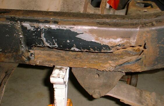 1979 CJ7 Frame Repair